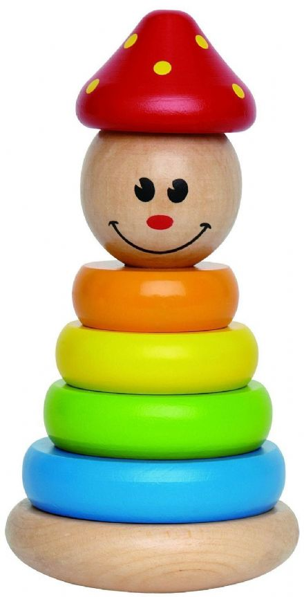 Hape Wooden Clown Stacker